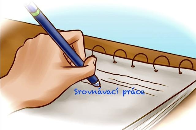 Termíny a okruhy 2. srovnávacích prací
