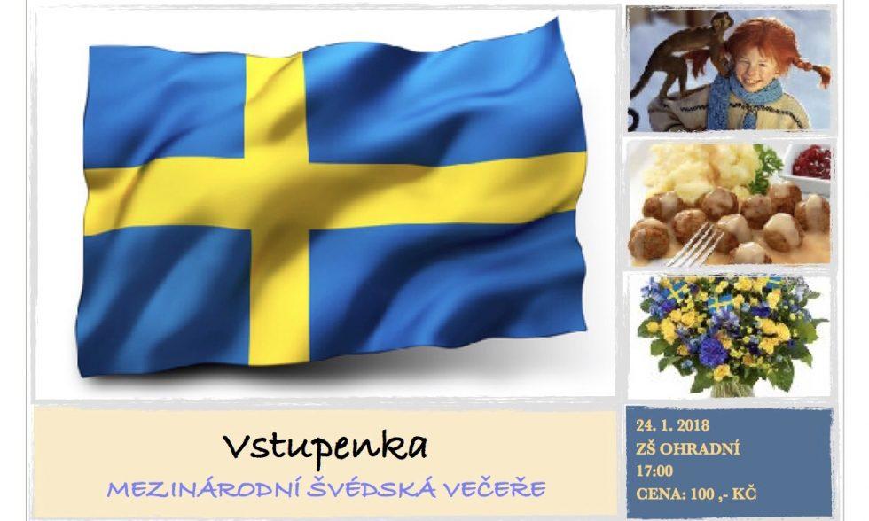 Lístky na Švédskou večeři pro rodiče