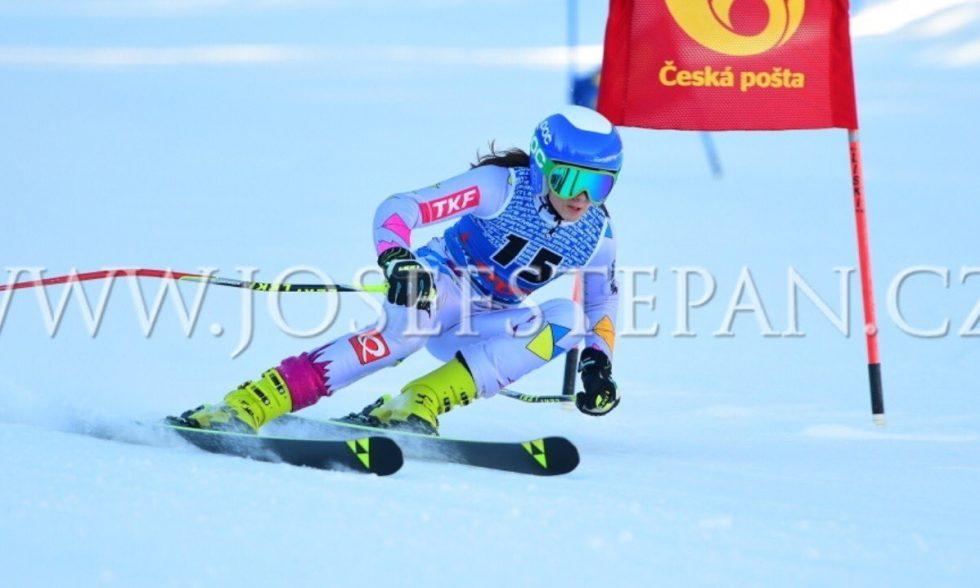 Bára Vodrážková na Zimní dětské olympiádě