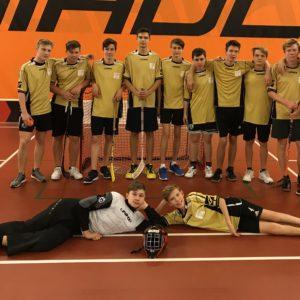 Meziškolní turnaj ve florbalu 8. a 9. ročníku