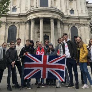 Prezentace výletu do Londýna