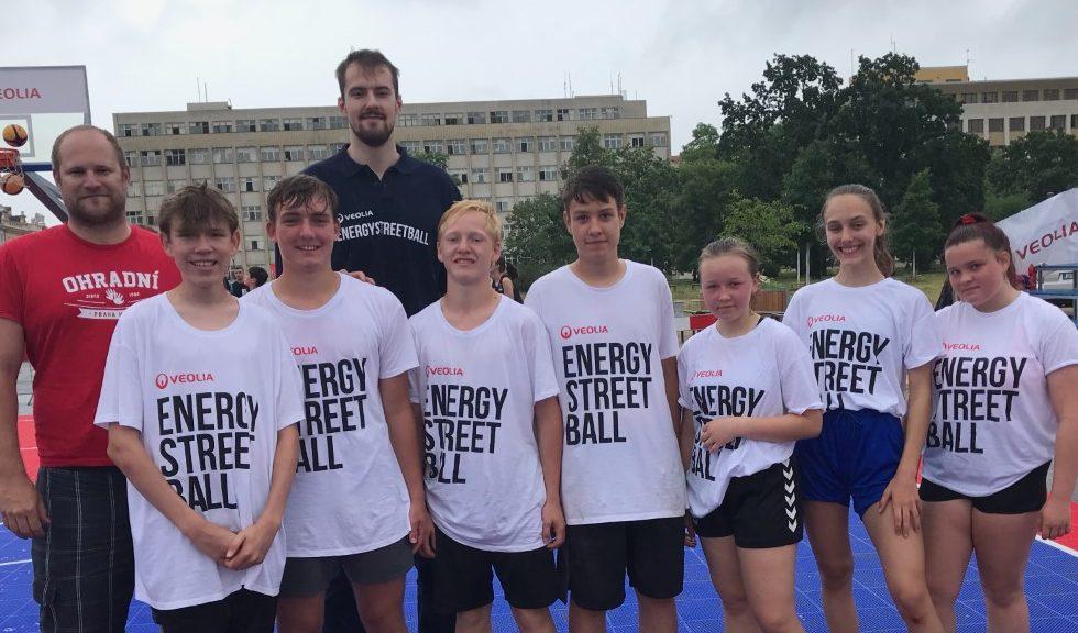 Streetball – úspěch pro naši školu